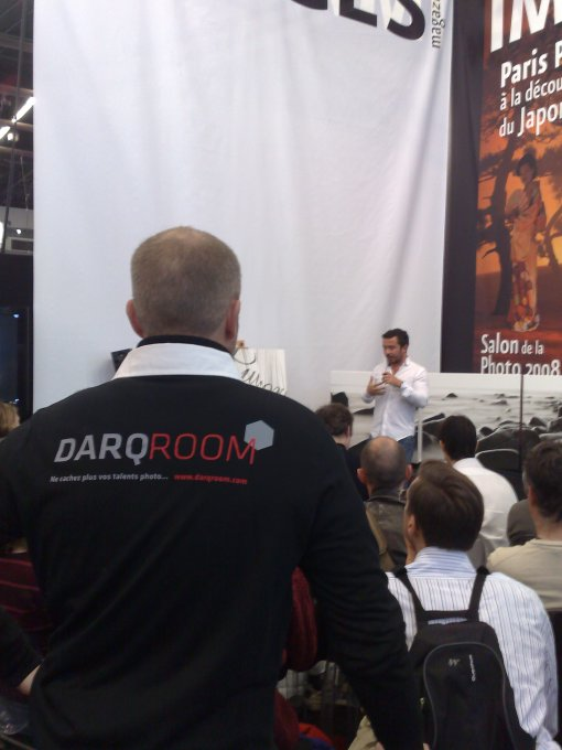 Darqromm au salon de la photo